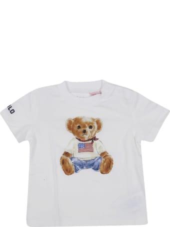 Ralph Lauren Ralph Lauren Kids Bear Print T-shirt