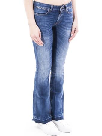 Dondup Neon Blend Cotton Trousers