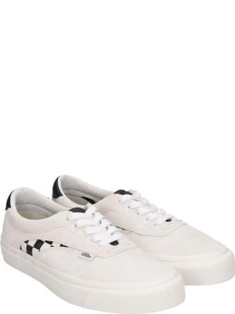 Vans Ua Acer Ni Sneakers In White Suede