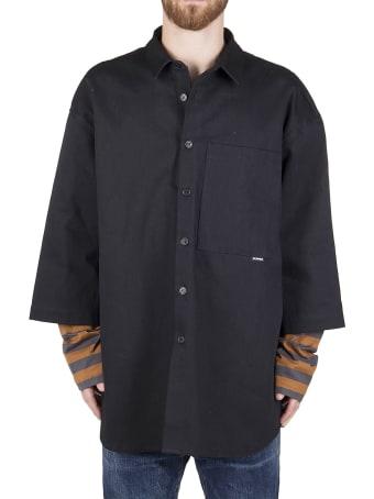Sunnei Black Cotton Shirt