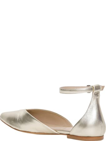 Strategia Flat Shoes With Ankle Strap