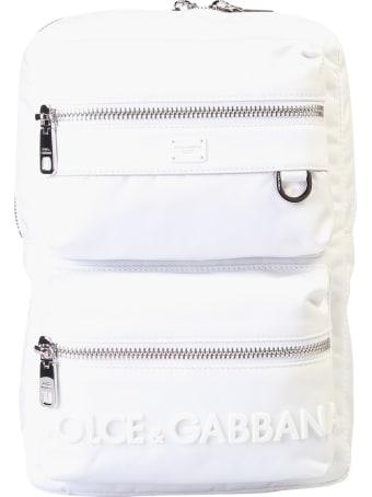 Dolce & Gabbana Branded Backpack