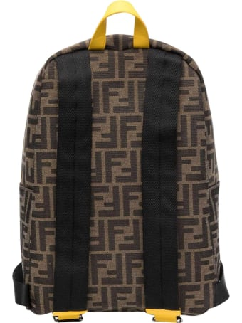 Fendi Backpack With Ff Logo