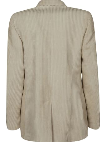 Isabel Marant Ribbed Double-breasted Blazer