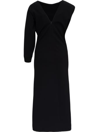 Givenchy Asymmetrical Dress With 4g Buttons