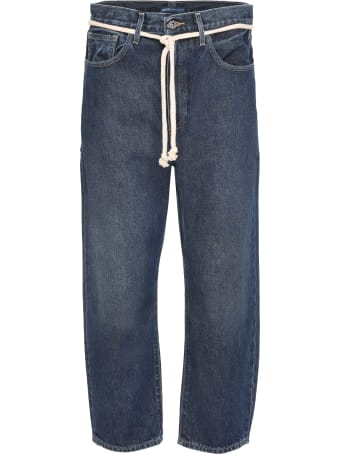 Levi's Barrel Crop Jeans