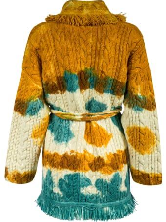 Alanui Mirage In The Desert T&d Cardi-coat