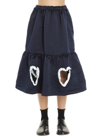 Comme Des Garçons Girl 'hearts' Skirt