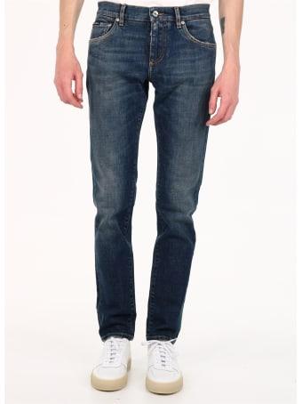Dolce & Gabbana Skinny Jeans Blue