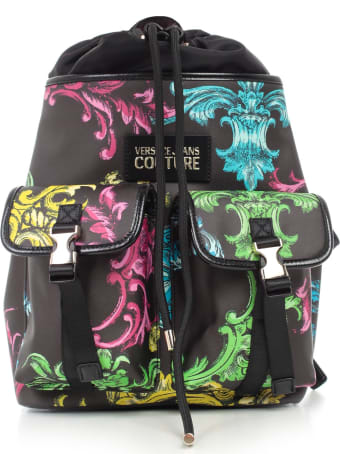 Versace Jeans Couture Backpack Fantasy W/pocket