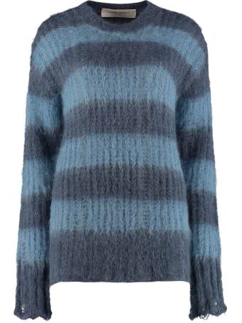 Golden Goose Antonicca Long Sleeve Crew-neck Sweater