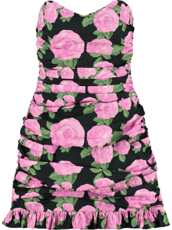 Giuseppe di Morabito Floral Draped Dress