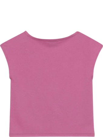 Gucci Pink Teen T-shirt With Press