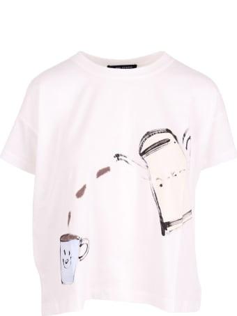 Yoshi Kondo 'mist' Cotton T-shirt