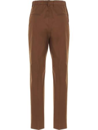 Incotex Red 'galene' Pants Incotex Red