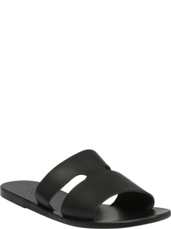 Ancient Greek Sandals Cut-out Sliders