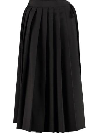 Prada Pleated Skirt