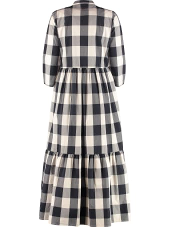 Woolrich Gingham Print Maxi Shirtdress
