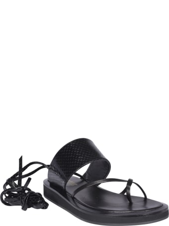 Paris Texas Brooklyn Lace Up Sandals