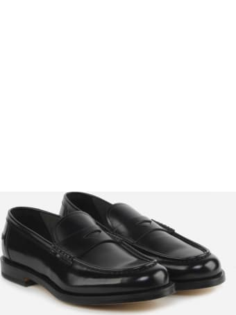 Doucal's Loafers Made Of Leather With Tone-on-tone Stitching