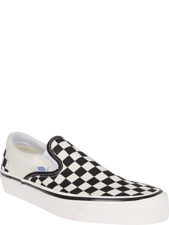 Vans Black And White Canvas 98 Sneakers