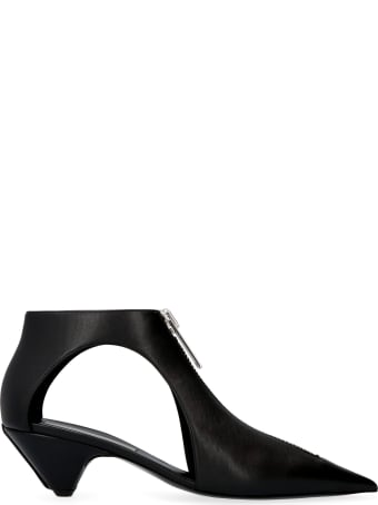 Stella McCartney Zipit Pointy-toe Ankle Boots