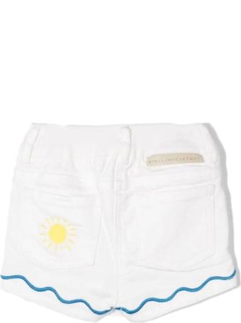 Stella McCartney White Cotton Shorts
