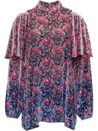 Philosophy di Lorenzo Serafini Floral Shirt In Viscose Blend