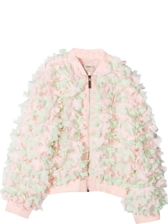 Elie Saab Bomber Jacket With Application