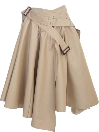 Junya Watanabe Comme Des Garçons Cotton Asymetric Skirt
