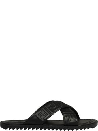 Fendi 3d Ff Sandals