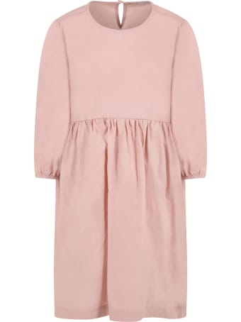 Woolrich Pink Dress For Girl