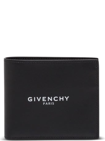 Givenchy Bifold Fragment Leather Wallet