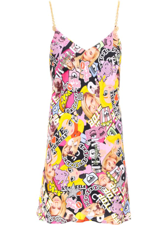 Chiara Ferragni Collage Slip Dress