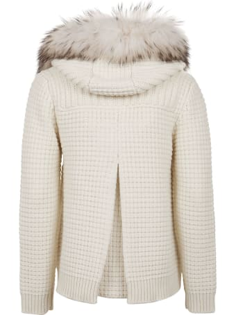Bark Eco Short Duffle Coat Ecological Fur
