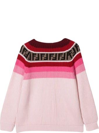 Fendi Pink Sweater