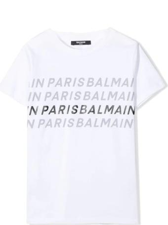Balmain T-shirt With Writings