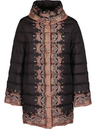 Etro Black Padded Coat