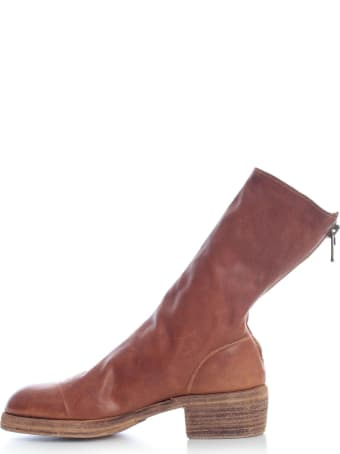 Guidi Back Zip Mid Boots