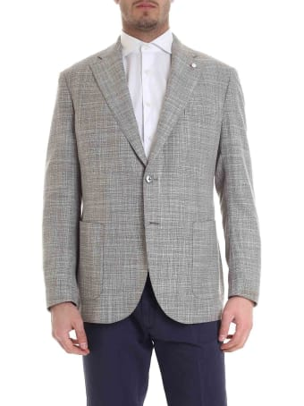 Luigi Bianchi Mantova Single Breasted Blazer