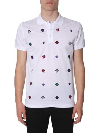 Dior Homme Cotton-pique' Polo Shirt