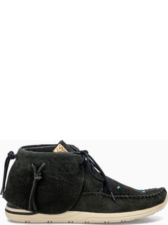 Visvim Lhamo Suede Chukka Boots