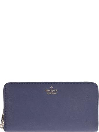 Kate Spade Zip-around Leather Wallet