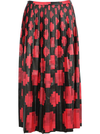 Marni Printed Pleated Skirt
