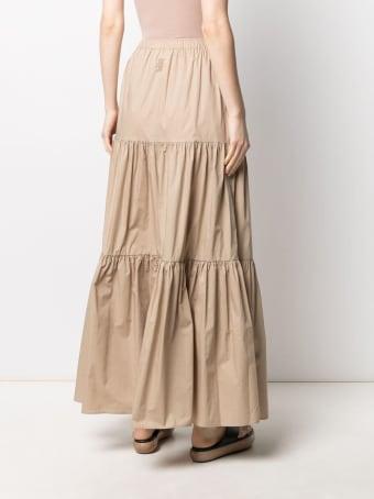 SEMICOUTURE Felicie Long Skirt With Flounces