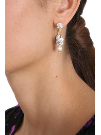 Magda Butrym Lily  Jewelry In Gold Pvc