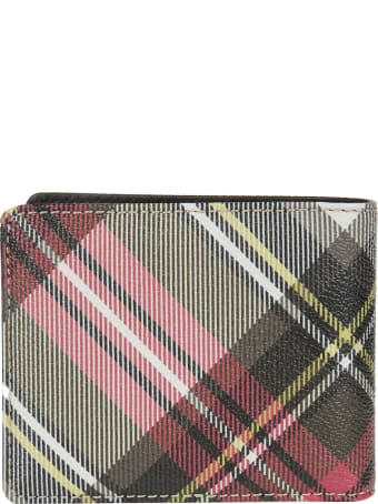 Vivienne Westwood Multicolor Leather Wallet