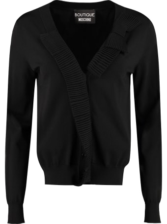 Boutique Moschino Knit Cardigan
