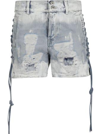 Faith Connexion Distressed Denim Shorts