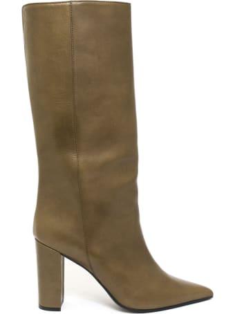 Aldo Castagna Iris Boot In Brown Leather